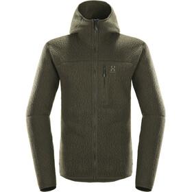 Haglöfs Pile Jacket Herre Grey Melange/Magnetite
